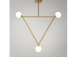 Pakabinamas šviestuvas Circle Rhombus TRIANGLE 3-6