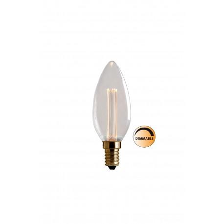 2.3W LED Filament lemputė E14