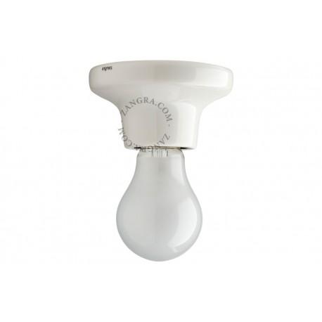 Sieninis/lubinis porcelianinis šviestuvas