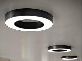 Lubinis/sieninis šviestuvas SILVER RING