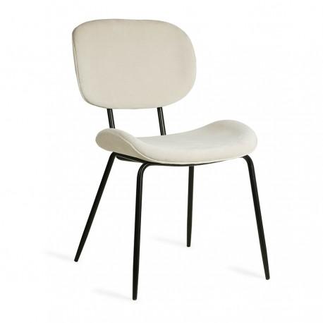 Valgomojo kėdė rib crème