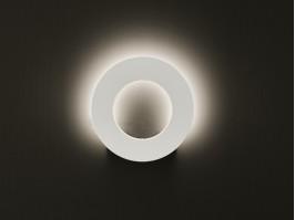 Sieninis šviestuvas SANTORINI round
