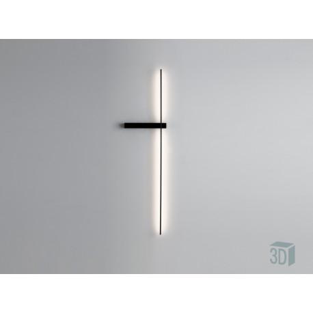 Sieninis šviestuvas SLIM