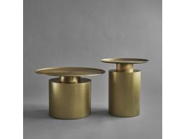 Kavos staliukas PILLAR brass