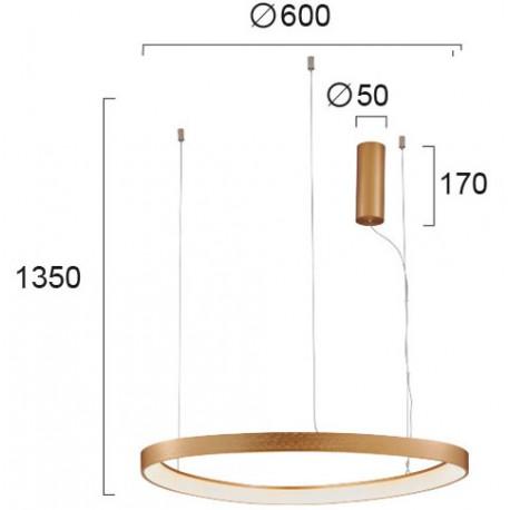 Pakabinamas šviestuvas LOOP