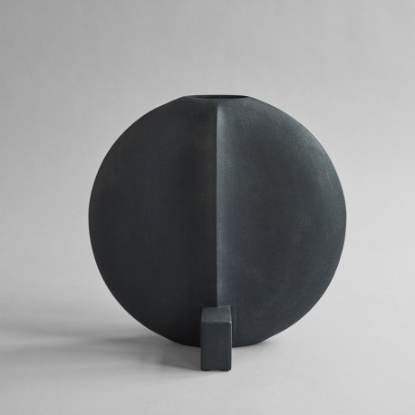 Vaza GUGGENHEIM big/dark grey