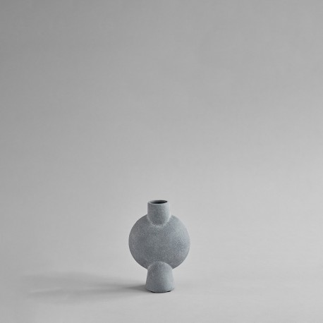 Vaza Sphere BUBL LIGHT GREY mini/medio