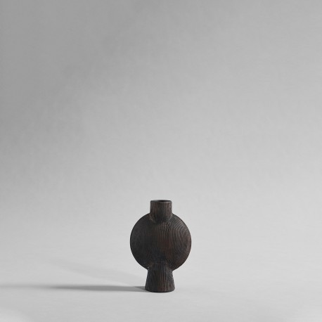 Vaza Sphere SQUARE Mini/coffee rifled