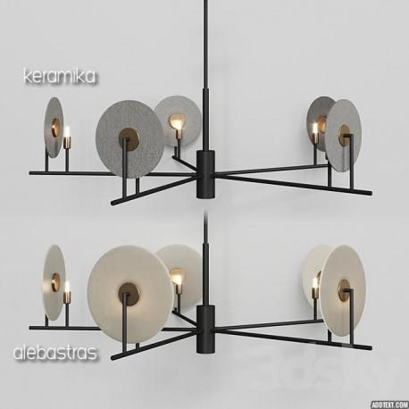 Pakabinamas šviestuvas ERTO