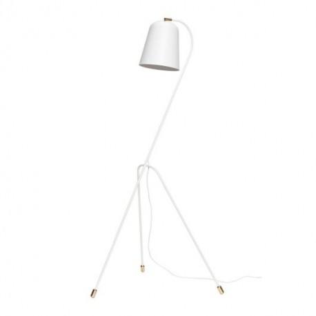 Pastatomas šviestuvas WHITE/BRASS