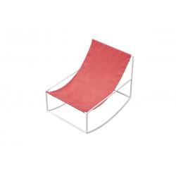 Kėdė ROCKING CHAIR WHITE_RED
