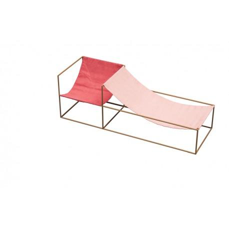 Kėdė DUO SEAT RED_PINK
