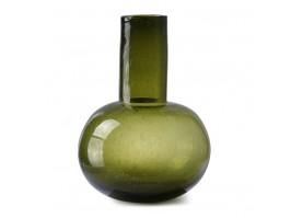Vaza GREEN GLASS L