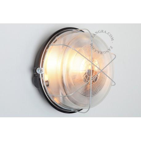 Sieninis šviestuvas BAKELITE&GLASS