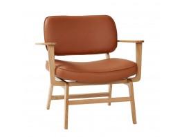 Poilsio kėdė NATURAL/BROWN