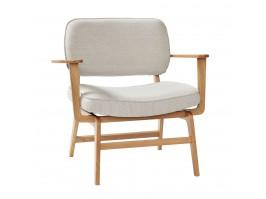 Poilsio kėdė NATURAL/GREY