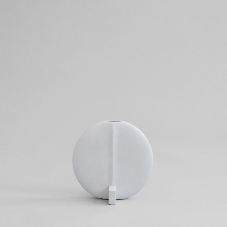 Vaza GUGGENHEIM PETIT BONE WHITE