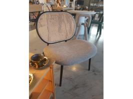 Poilsio kėdė SPIKE GREY/NATURAL