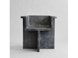 Valgomojo kėdė BRUTUS DARK GREY