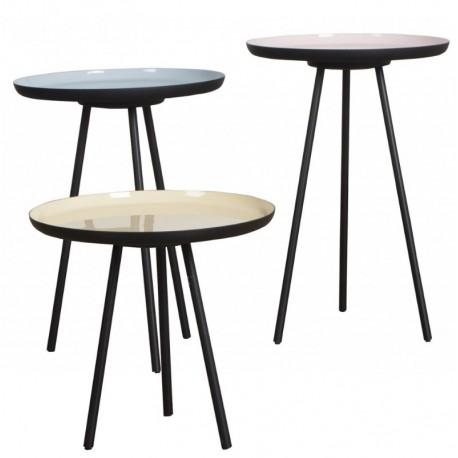 Kavos staliukų komplektas Enamel