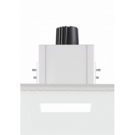 Įmontuojamas berėmis šviestuvas QUADRATO
