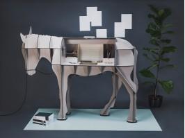 Modulinė lentyna/ rašomasis stalas MATURIN